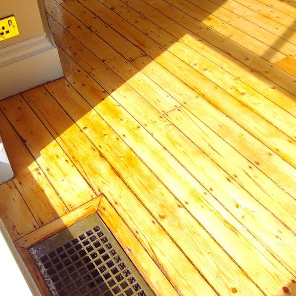 Pine Floor Sanding Polish