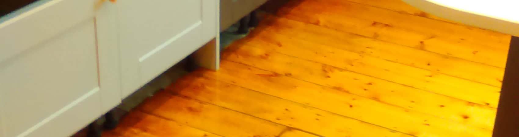Restored Pine Floor 2 Coats Oil