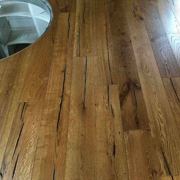 Rustic Grade Engineered Oak