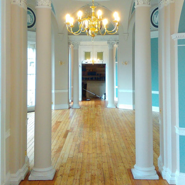 Solid Wood Floor Restoration Newbury